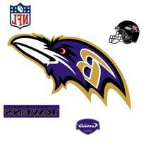NFL Logo Wall Decal, Baltimore Ravens