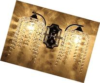Fuloon Wall Light Fuloon Fixture Sconce Chandelier Crystal