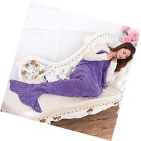 Casofu® Warm and Soft Mermaid Tail Blanket 7 diffenrent
