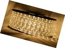 """CBConcept® Warm White 10 FT 110V-120V 2-Wire 1/2"""" LED Rope"""