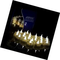 AGPtek No flicker Flameless LED Candles Battery-Operated