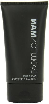Evolution Man Wash and Buff, 4.4 Ounce