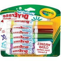 Crayola 12 Ct Washable Dry Erase Markers