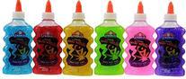 Elmer's Washable Glitter Glue, 6 oz Bottles, 6-Pack, Green/