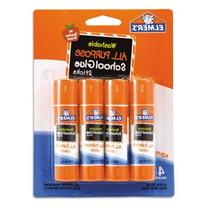 ** Washable All Purpose School Glue Sticks, 4/Pack