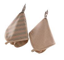 Spikerking Baby Washcloths Stripe Organic Cotton,Premium