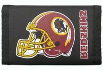 Washington Redskins NFL Nylon Trifold Wallet