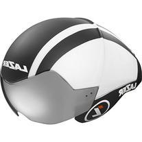 Lazer WASP AIR Aero Helmet: Black with White MD/LG Unisize