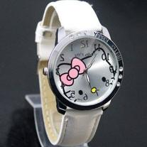 Hello Kitty Watch for Kids Girls Women White Holiday