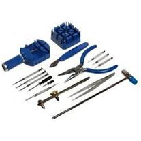 16 Piece Watch Battery and Band Replacement Tool Kit