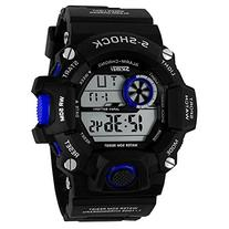 Fanmis Men's Outdoor Sports Watch Multifunction Electronic