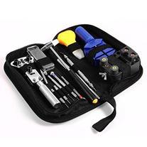 Ohuhu 147 PCS Watch Repair Tool Kit Case Opener Spring Bar