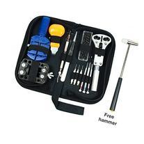 Watch Repair Tool Kit Case Opener Link Remover Spring Bar