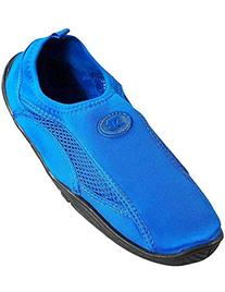 Womens Water Shoe Aqua Sock,7 B US,Blue 2909