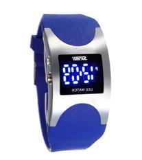 Men's Women's Water Resistant LED Digital Display Alloy Case