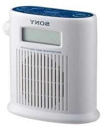 Sony Water Resistant Weather / FM / AM 3 Band Shower Radio