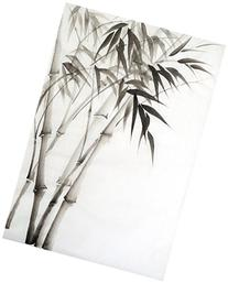 Watercolor Painting Of Bamboo Poster by Surovtseva 13 x 19in