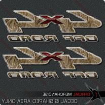 4x4 Waterfowl Duck Goose Decals