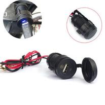 New 12V to 5V Waterproof Motorcycle Mobile Phone USB Charger