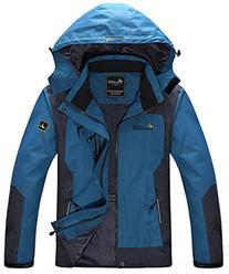 WantDo Men's Waterproof Mountain Jacket