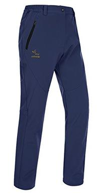 Wantdo Women's Waterproof Mountain Pant Fleece Windproof Ski