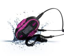 Diver DPL-20 Waterproof MP3 Player with LCD Display 4 GB Kit