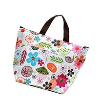 Eforstore Reusable Bento Box Lunch Bag with Thermal Linning
