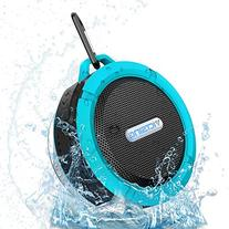 VicTsing Shower Speaker, Wireless Water-Resistant Speaker