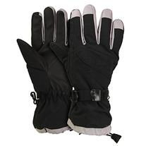 Women's Waterproof / Thinsulate Lined Ski Glove Black,
