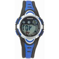 Pasnew Kids' PSE-BL-276g Digital Blue & Black Waterproof