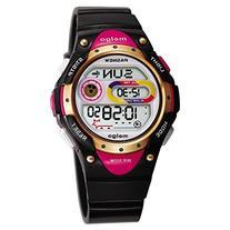 Pasnew LED Waterproof 100m Sports Digital Watch for Children