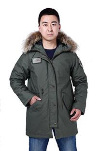 Seibertron Waterproof Winter M65 Parka Field Coat Fur Collar