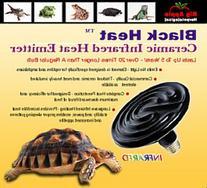Big Apple 100 Watt Black Heat Infrared Ceramic Heat Emitters