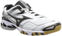 Mizuno Men's Wave Bolt 3 Volleyball Shoe,White/Black,12.5 M