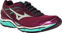 Mizuno Women's Wave Enigma 5 Running Shoe, Wild Aster Silver