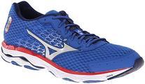 Mizuno Men's Wave Inspire 11 Running Shoe,Turkish Sea Silver