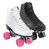 Riedell Wave Womens Skates - Riedell Wave White Quad Roller