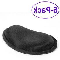 Waverest Gel Wrist Pad Black Fabric Top Rubber Back