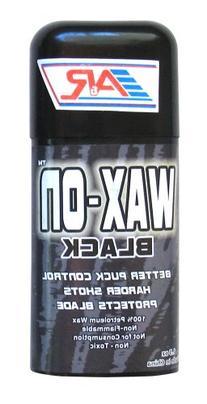 A&R Sports Wax-On Hockey Stick Wax, Black