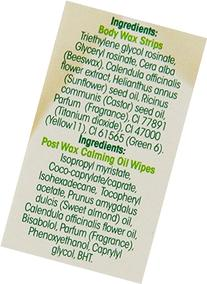 Nad's Body Wax Strips, 20 Count