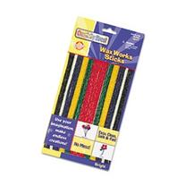 - Wax Works Strips, Bright Hues Colors, 48 Pieces