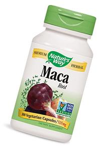 Nature's Way Maca Root 525 mg, 100 VCaps
