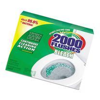 WDC290088 - 2000 Flushes Blue Plus Bleach, 1.25oz
