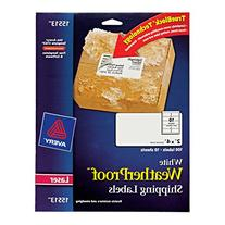 Avery WeatherProof Labels for Laser Printers, 2 x 4 Inch,