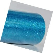 Wedding GLITTER Tulle Roll 6in x 30ft TURQUOISE Sparkling