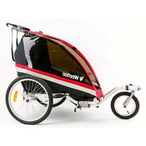 Weehoo WeeGo Buggy Bicycle Trailer and Jogger Red/Black, One