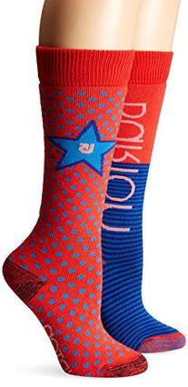 Burton Girls Weekender Socks , Tropic, Medium/Large
