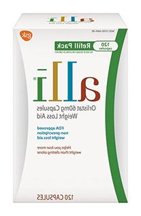 Alli Weight Loss Refill Pack, 120ct
