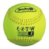Markwort Weighted Synthetic Covered Baseball, 9-Inch, 3-
