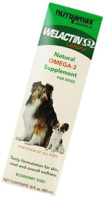 Nutramax Welactin Omega -3 Nutritional Supplement for dogs,